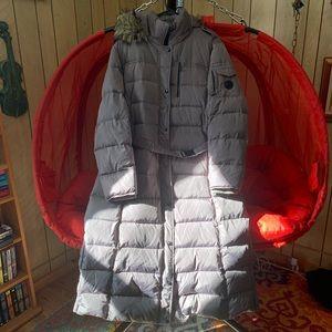 Michael Kors down puffer winter jacket coat long